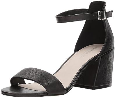 217bd968e00e Reaction Kenneth Cole Hannon Block Heel Leather Sandal Black