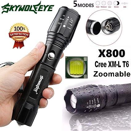 Amazon Tactical Police 12000 High Lumens Cree Xml T6 Led
