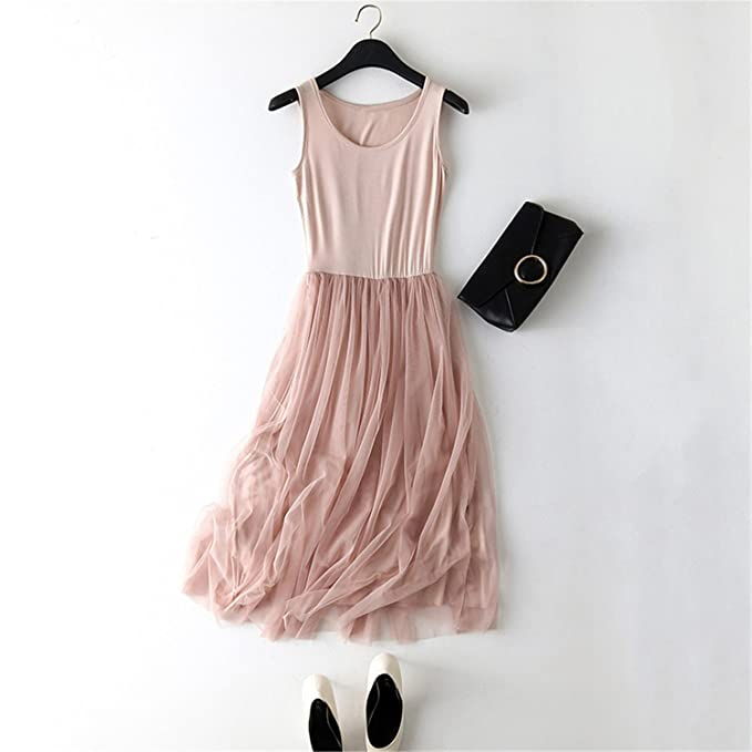 Robin Santiago 2017 New Sexy Dress Spring Summer Women Gauze Lace Tank Dress Basic Sundress Party