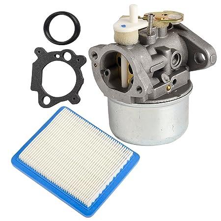 HIFROM Carburetor filtro de aire junta tórica para Briggn ...