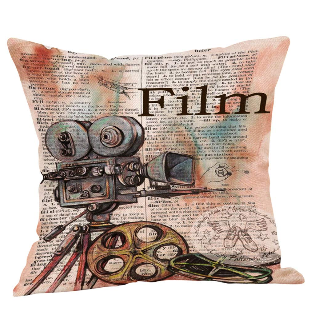 Vintage Decorative Throw Pillow Covers Protectors Bolster Case Pillowslip AOJIAN Home Decor Cushion Cover
