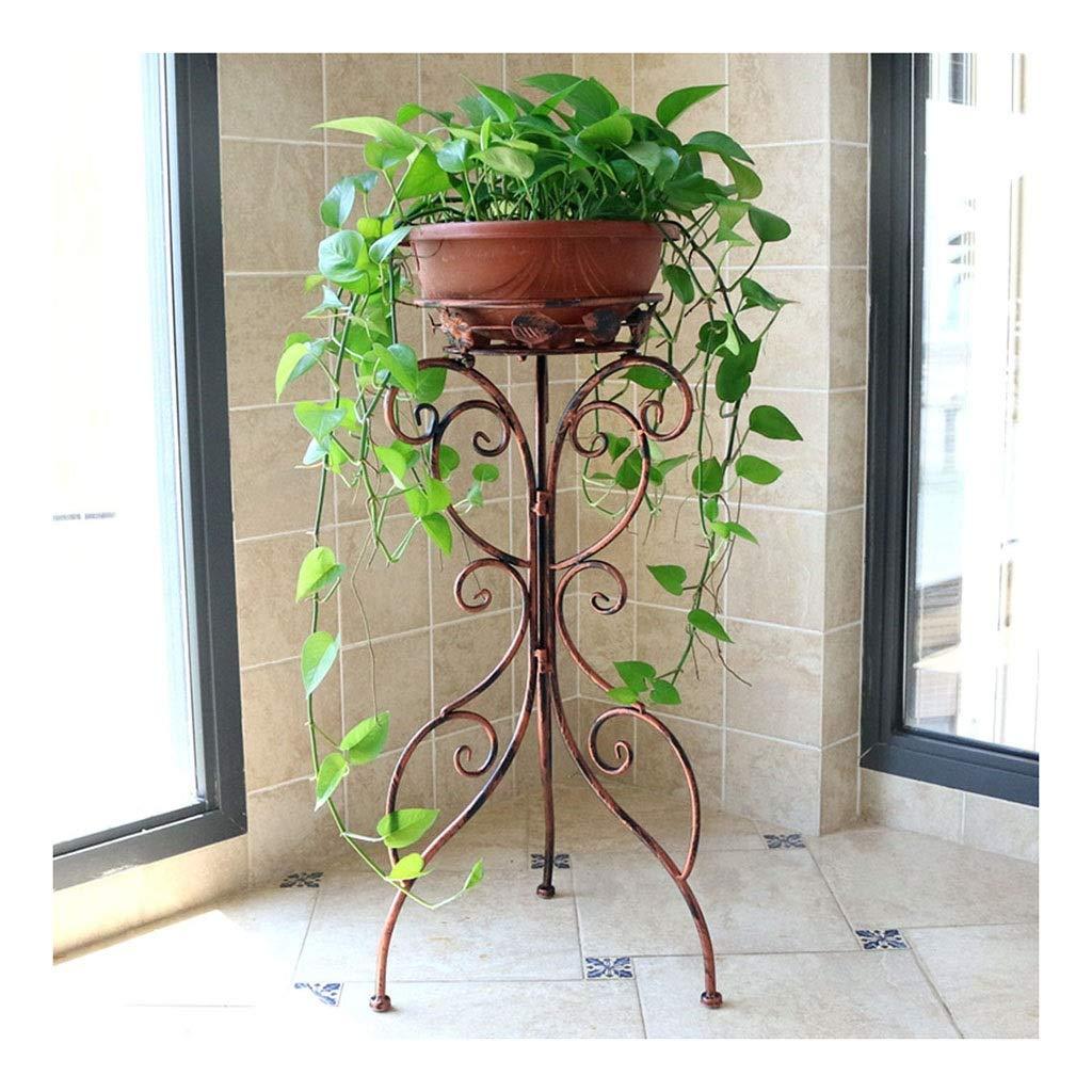 miglior reputazione WEN Iron Art Flowerpot Stand, 96cmH Fioriera per Interni Interni Interni Singolo Strato per 1 Vaso può Essere Piegato 96  39  39cm (colore   Marronee)  prezzi più convenienti