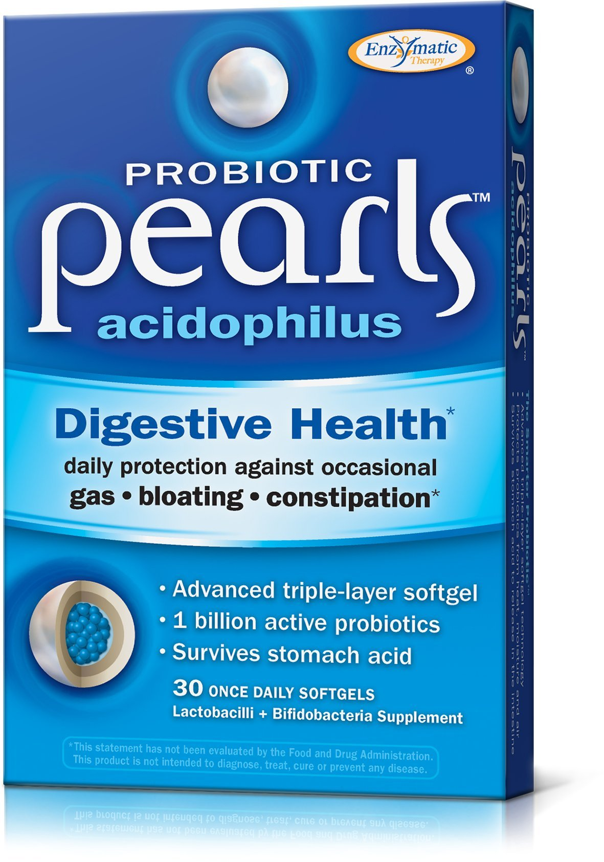 Enzymatic Therapy Acidophilus Pearls, 30 Count
