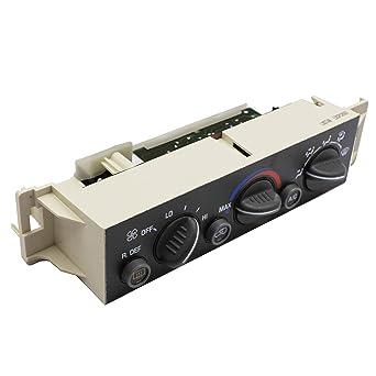 Amazon Com Ac Heater Climate Control Panel Module W Rear Window Defogger Switch For 1996 1997 1998 1999 2000 Chevy Suburban Tahoe Gmc Yukon C1500 C2500 C3500 K1500 K2500 K3500 Silverado Industrial Scientific