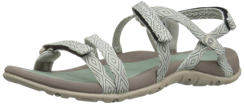 Hi-Tec Women's Santori Strap Sandal B01HNL3VM2 8 D US|Jadeite/Warm Grey