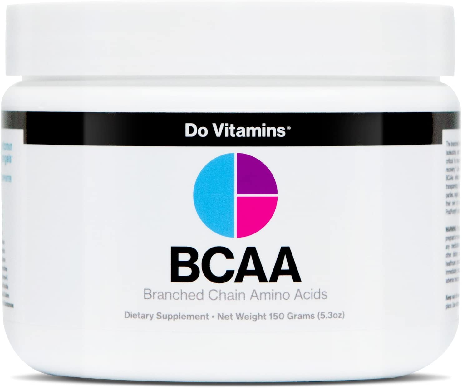 Vegan BCAA Powder Unflavored – Branched Chain Amino Acids – Clean BCAA Powder with AjiPure Essential Amino Acids – Certified Vegan, Paleo, Keto, 2 1 1, 5000 mg 30 Servings