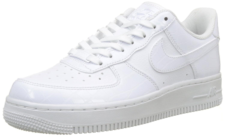 Nike Wmns Air Force 1 '07 ESS, Zapatillas de Gimnasia para Mujer 44 EU|Blanco (White/White/White 100)