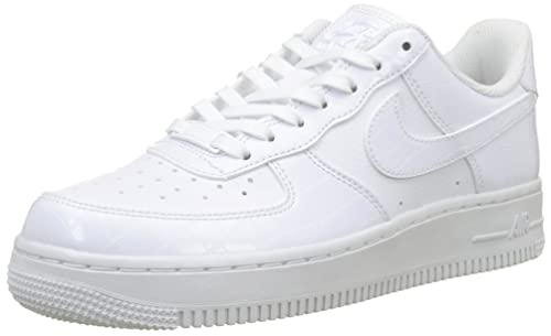 Nike Women's WMNS Air Force 1 '07 Ess Gymnastics Shoes White 100, 4 UK