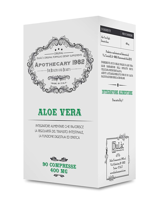Apothecary 1982 - Aloe vera - 90 comprimidos - Depurativo - Ayuda a ...