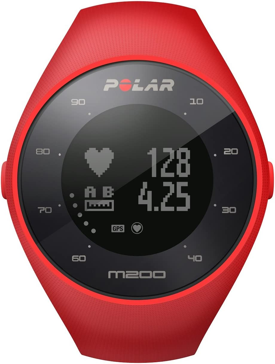 Polar M200 Pulsómetro GPS, Unisex, Rojo, M/L: MainApps: Amazon.es ...