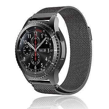 mliya Samsung Gear S3 Classic/frontera Smartwatch correa 22 ...