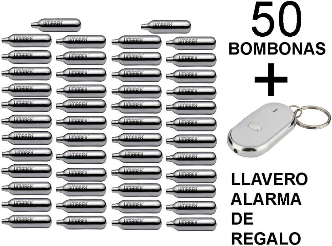 50 bombonas co2 12gr. Umarex para pistolas y carabinas