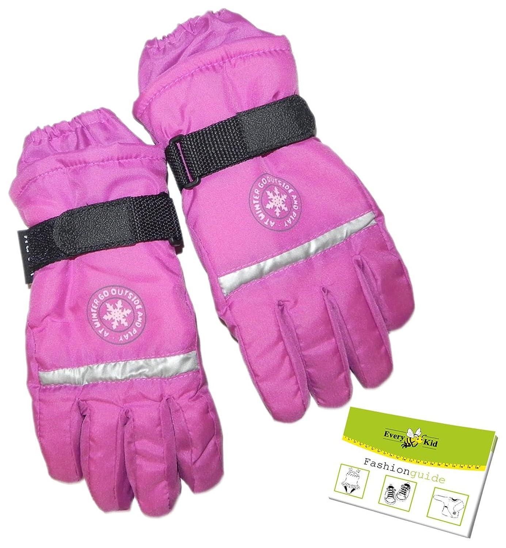 Thermo Fingerhandschuhe für Mädchen (PT-55863) inkl. EveryKid-Fashionguide