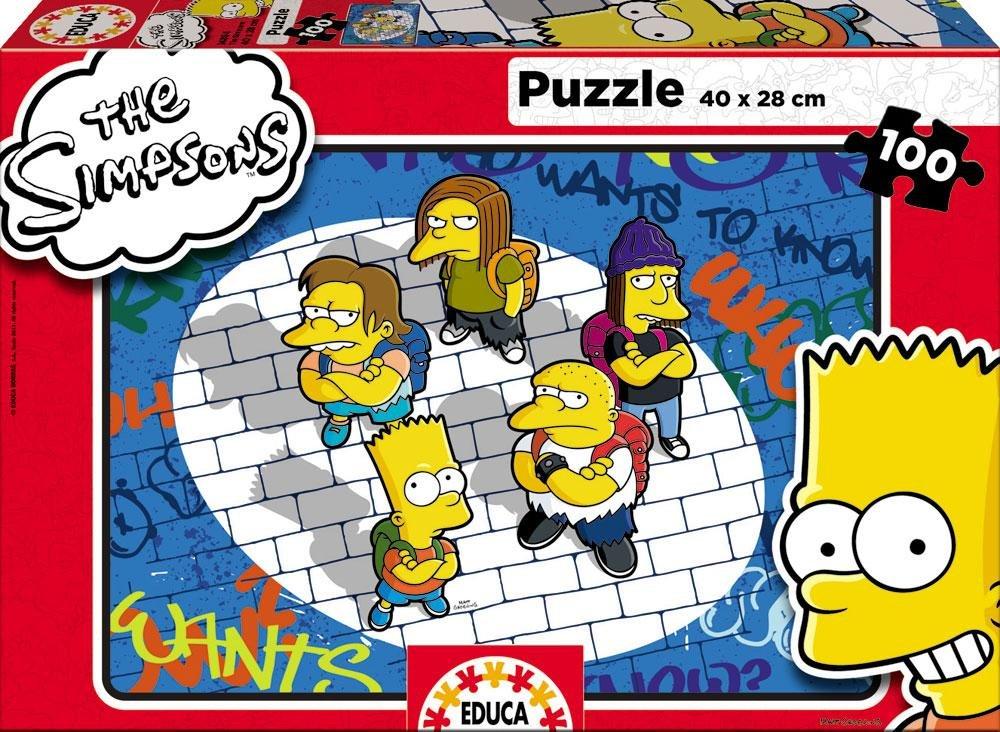 Educa 14894 Los Simpson - Puzzle 100 piezashttps://amzn.to/2MgaU5f