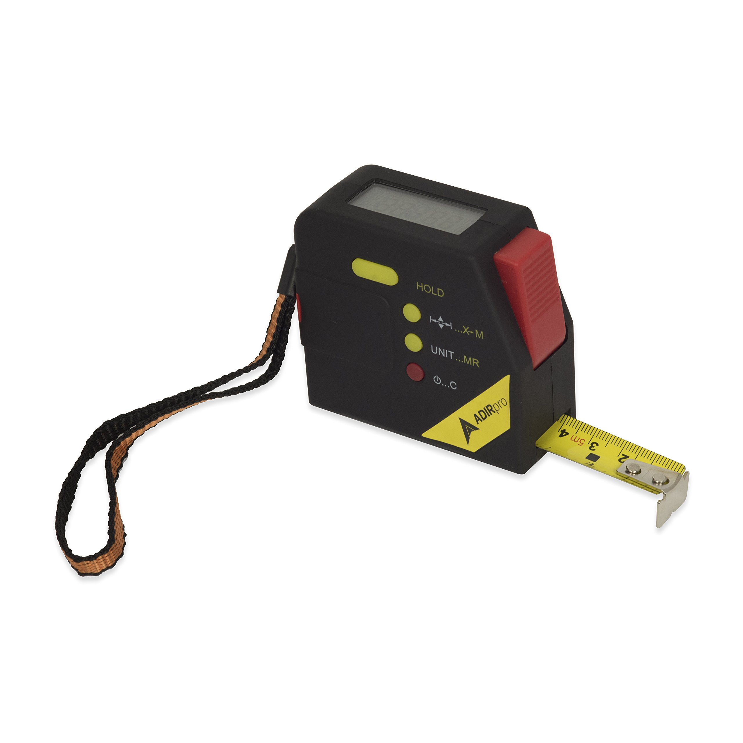 AdirPro 715-06 16' Retractable Digital Measuring Tape with LCD Display