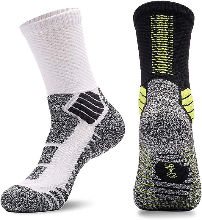 Amazon.com: Calcetines acolchados de baloncesto para hombre ...
