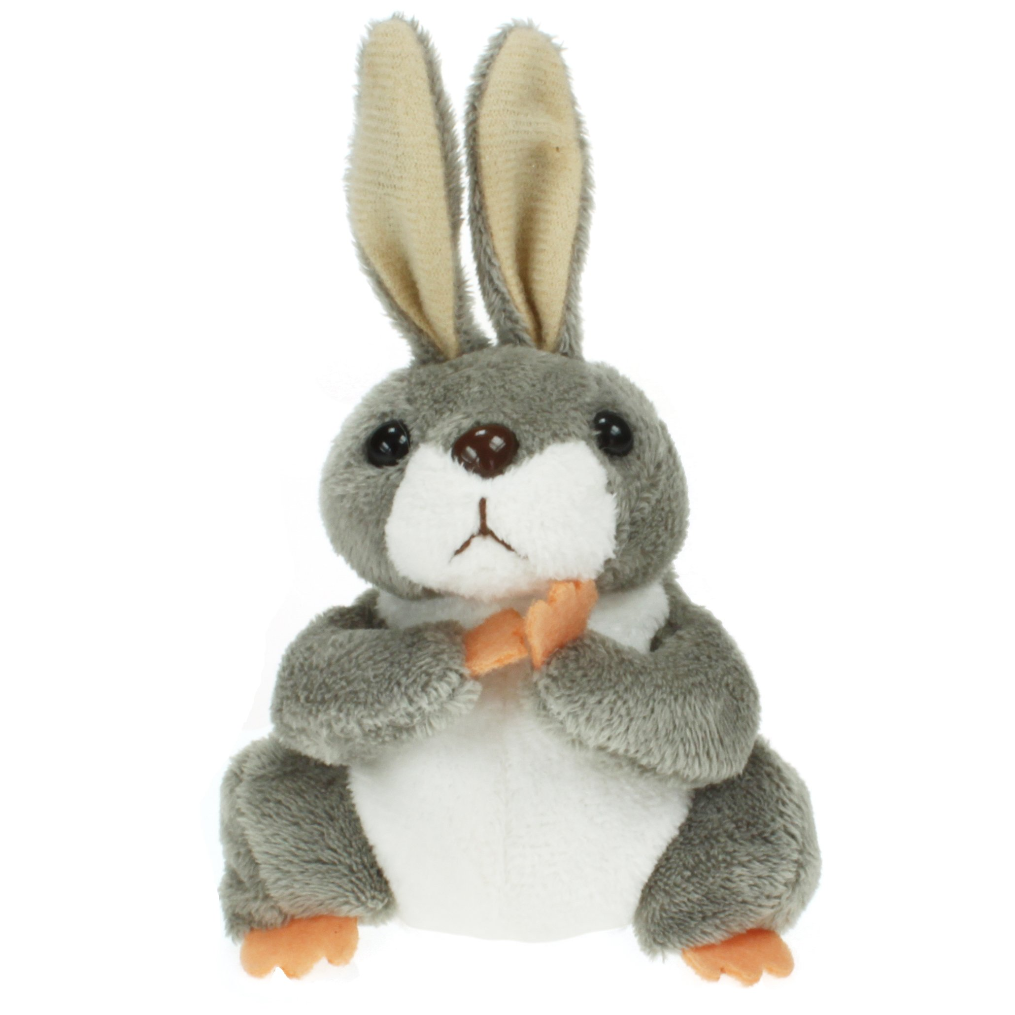 The Puppet Company Rabbit Finger Children Toys Puppets, Grey