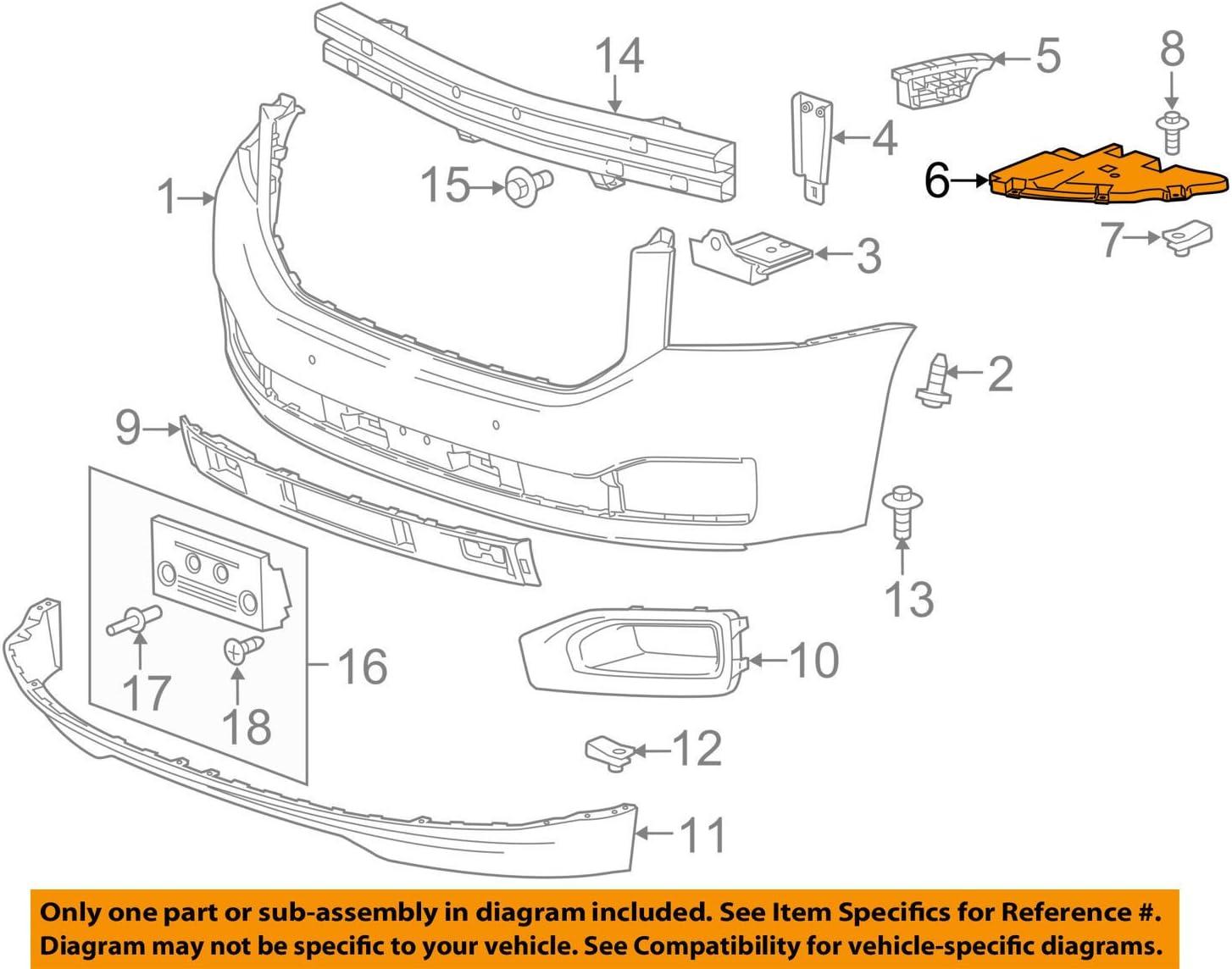 Input Shafts GM 22936428 FILLER ASM-FRT BPR OTR FRT Replacement Parts