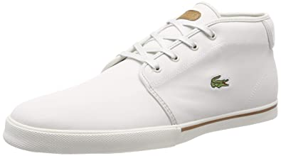 1efe51d89626 Lacoste Ampthill 119 1 Mens Off White Sneakers-UK 6   EU 39.5