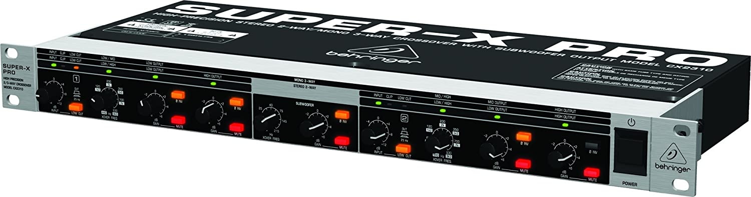 High-Precision Stereo 2-Way//Mono 3-Way Crossover with Subwoofer Output