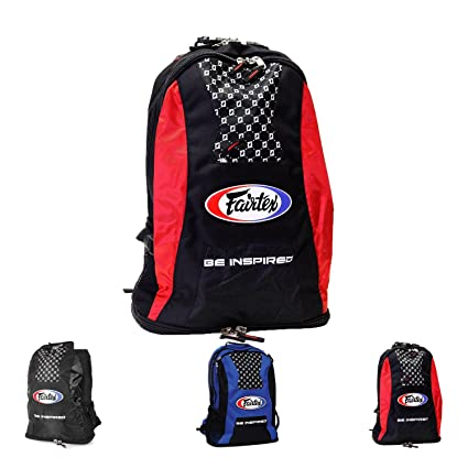 2ecbc48298c6 Amazon.com : Fairtex Gym Bag Backpack Gear Equipment Color Blue or ...