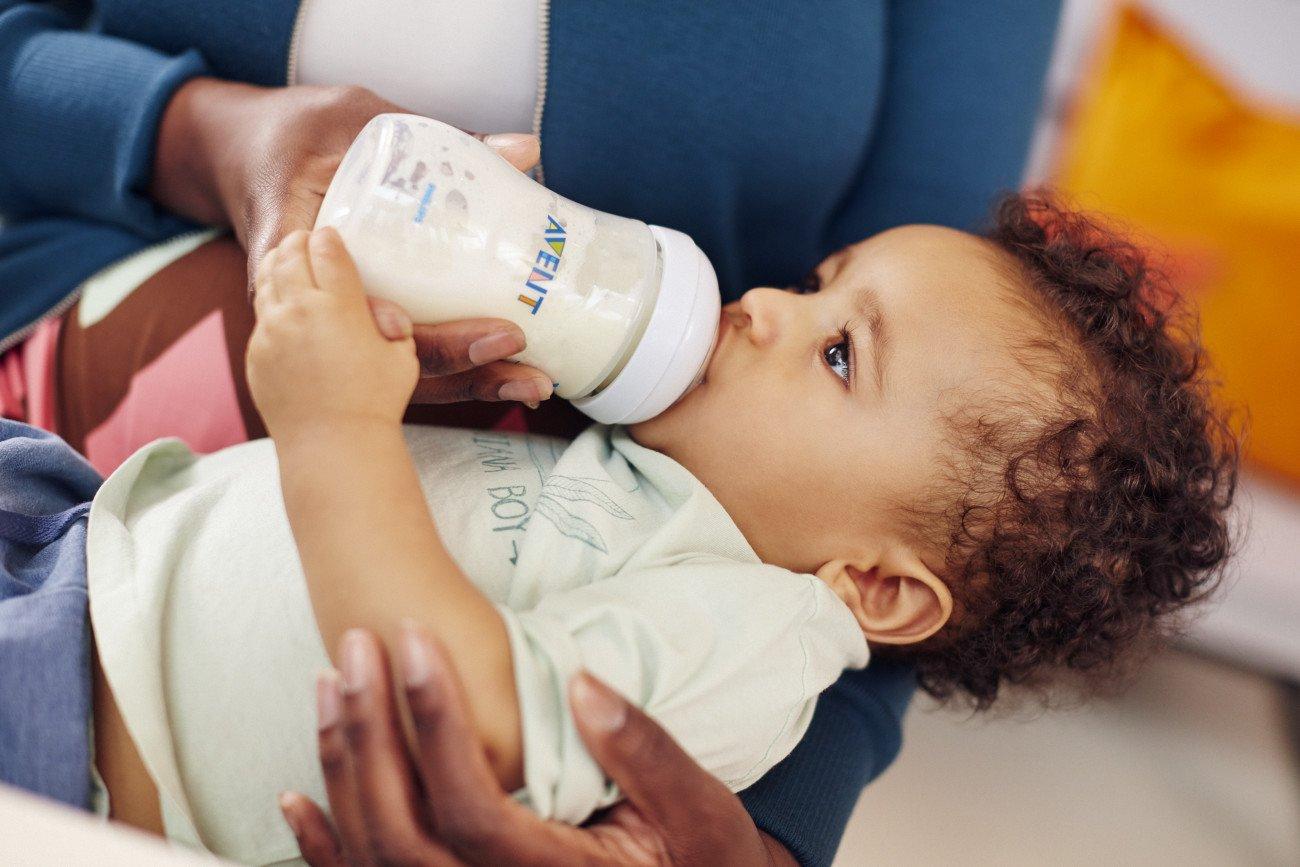 Clear Philips Avent Natural Baby Bottle 9oz 1pk SCF013//27