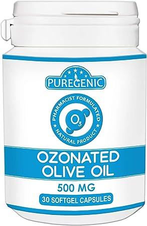 Puregenic - Ozonated Olive Oil, 500mg (30 Softgels)