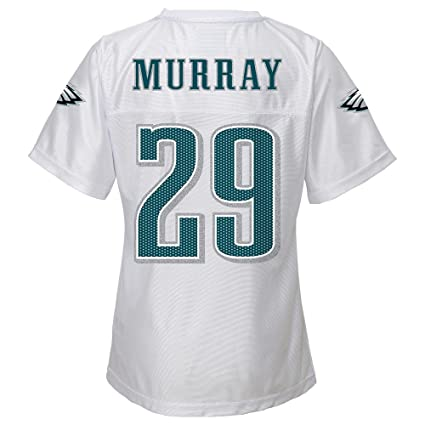 1022288a Outerstuff Demarco Murray NFL Philadelphia Eagles Replica White Jersey  Girls Youth (XS-XL)