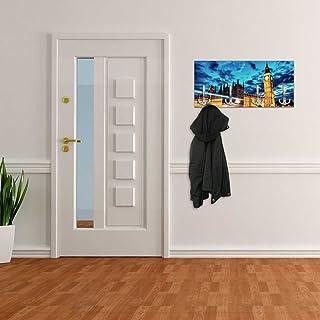Appendiabiti da Parete con Design London Big Ben Gancio Appendiabiti a Muro Appendiabiti da Parete dg248
