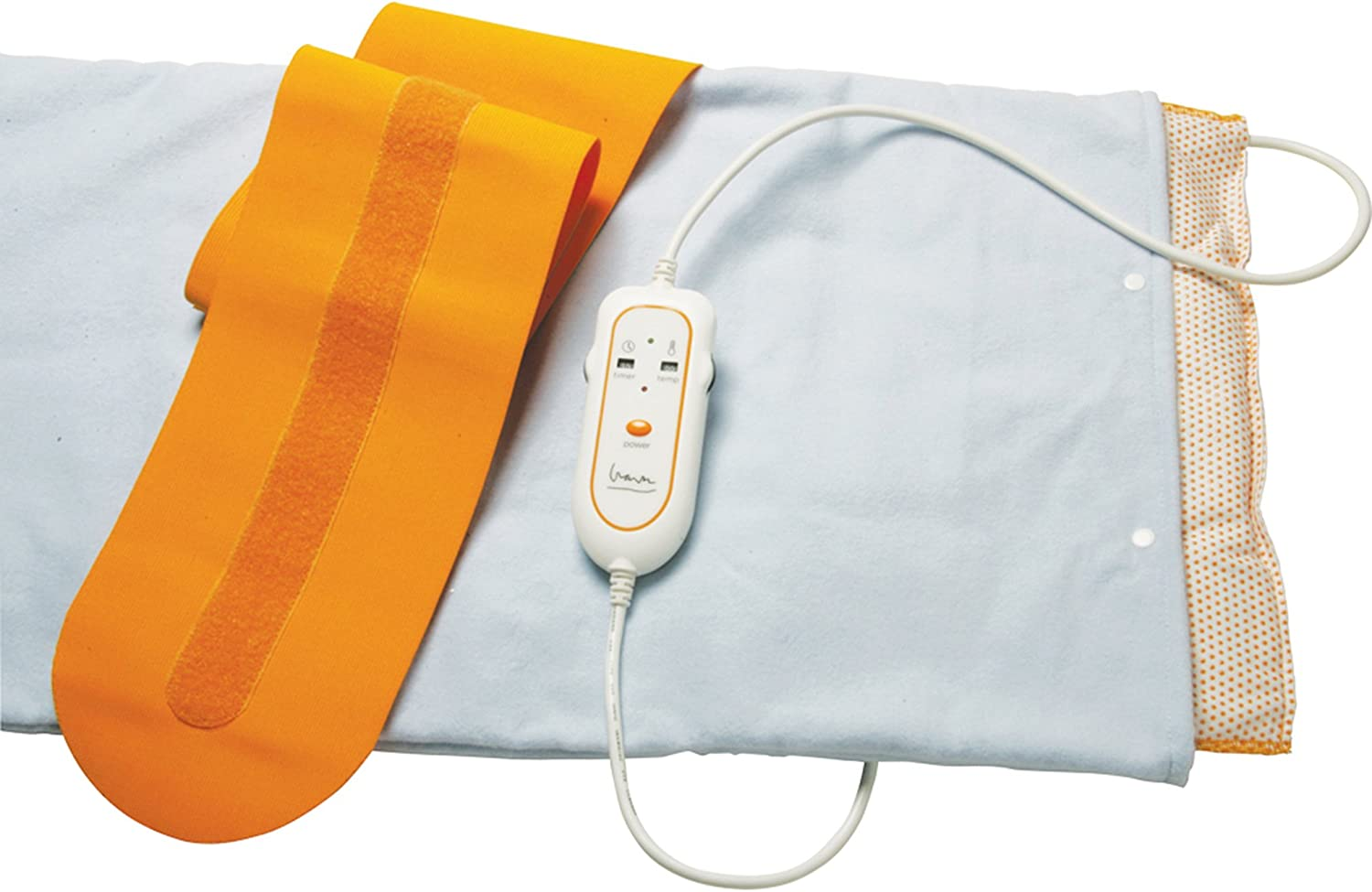 "Drive Medical Therma Moist Michael Graves Heating Pad, Medium 14"" x 14"""