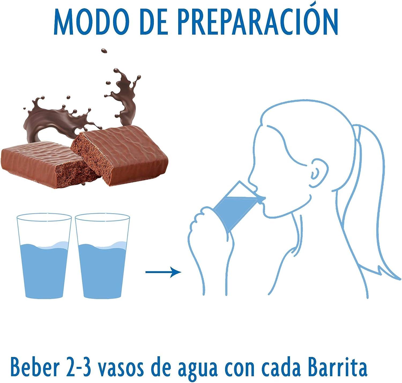 OPTIFAST Barritas Cappuccino. Estuche de 6 barritas de 65g cada una, sustitutivas de la comida para control de peso: Amazon.es: Salud y cuidado personal