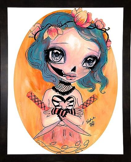 Frame USA Katana Kisser-NATWES144410 by Natasha Wescoat Print 16.25 x 12.75 Affordable Black Medium