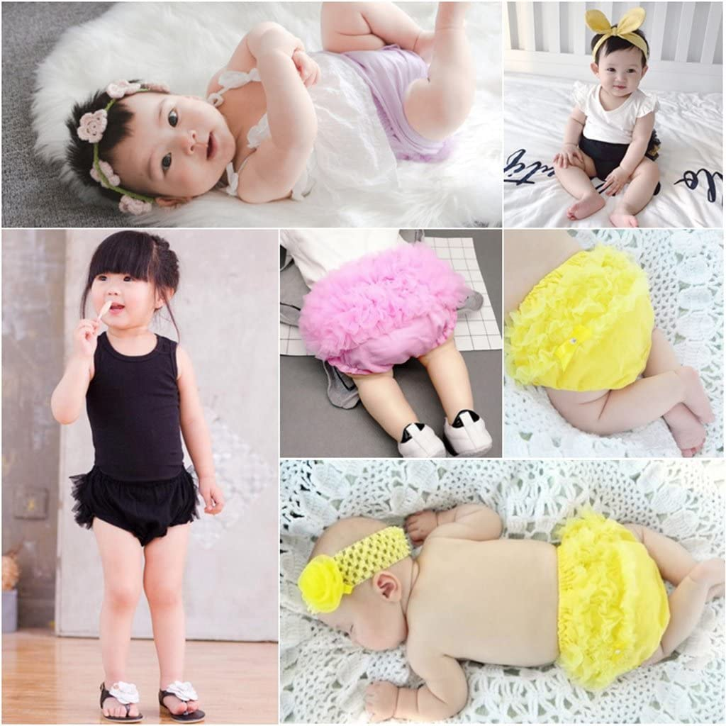 OBEEII Baby Girl Boy Triangle Shorts Cotton PP Harem Pants Summer Bloomers Shorts