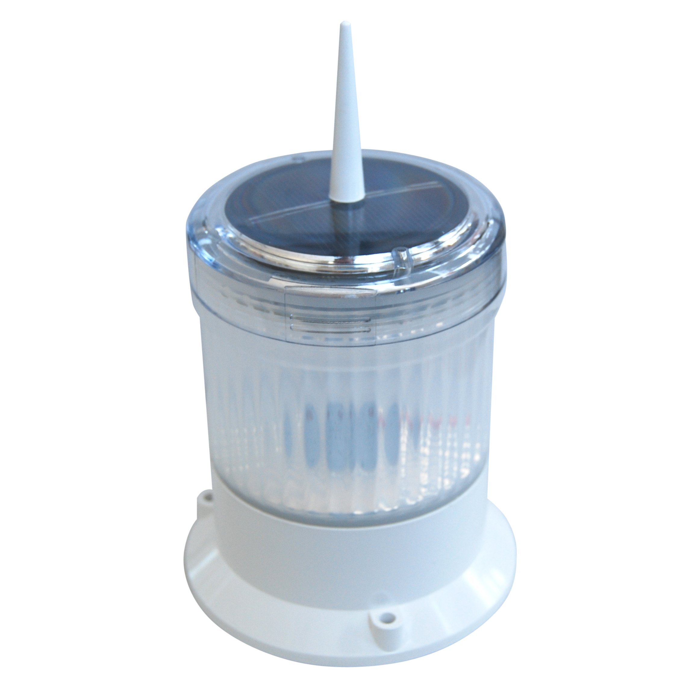 Dock Edge Solar Pile Cap Light