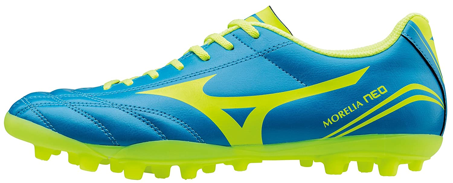 Morelia Neo CL AG Football Boots - Diva Blue/Safety Yellow - size 9.5 t0LGDwu