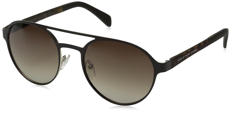 427eca5e6cb6 MARC BY MARC JACOBS MMJ 453/S Sunglasses 0AJI Brown Light Gold 54-20-135:  Amazon.co.uk: Clothing