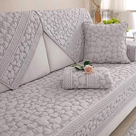Yijiayun Funda Protectora para sofá de algodón Acolchado ...