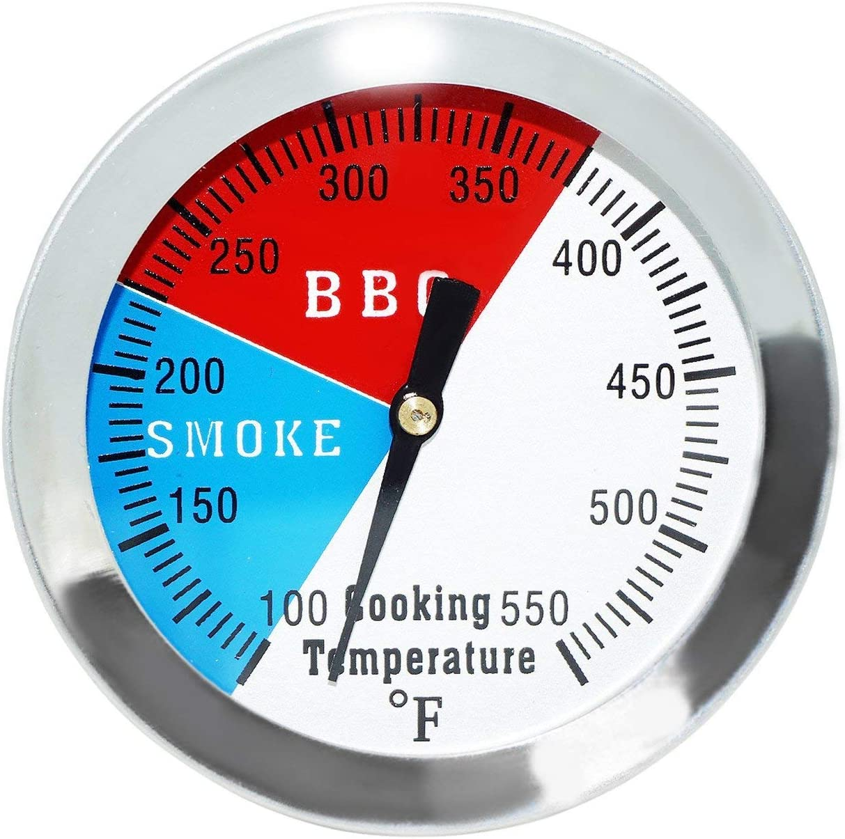 Onlyfire Professional Bbq Charcoal Smoker Gas Grill Dia 1 8 Thermometer Temperature Gauge Fits For Weber Grill Models Q120 220 300 320 And Others Barbecue Smoker Accessories Gioncosurgery Patio Lawn Garden