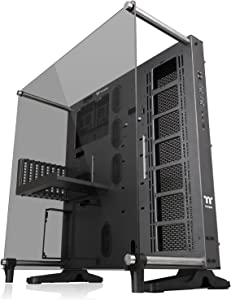 Thermaltake Core P5 Tempered Glass Titanium Edition ATX Vertical GPU Modular Gaming Open Frame Computer Case CA-1E7-00M9WN-00