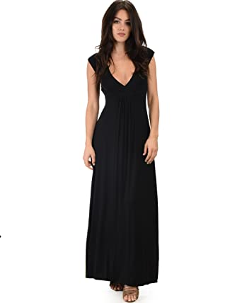 Lyss Loo Womens Sweetest Kiss Sleeveless Long Maxi Dress Also