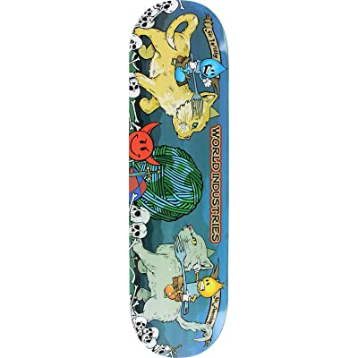 World Industries Cats Jousting Skateboard Deck -8.38 - Assembled AS Complete Skateboard : Sports & Outdoors