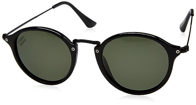 D. Franklin Roller, Gafas de Sol Unisex Adulto, Negro, 49