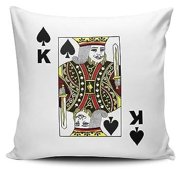 Pack de jugando a las cartas - Rey de Picas - Funda para ...