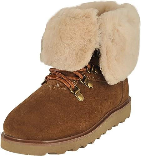 Bearpaw Women's Kayla Fur Trimmed Boots