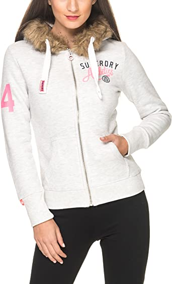 Superdry Track & Field Super Track Zip Hoodie at Amazon