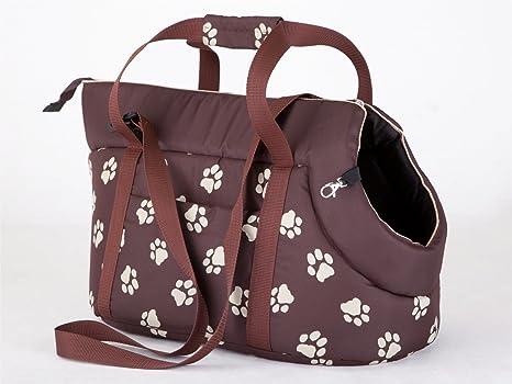 Hobbydog Bolsa de Transporte para Perros y Gatos, tamaño 3, Color marrón con Patas
