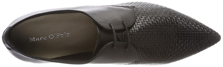 Marc (schwarz) O'Polo Damen Lace Up Schuhe 80114423401106 Slipper Schwarz (schwarz) Marc 0c00fe