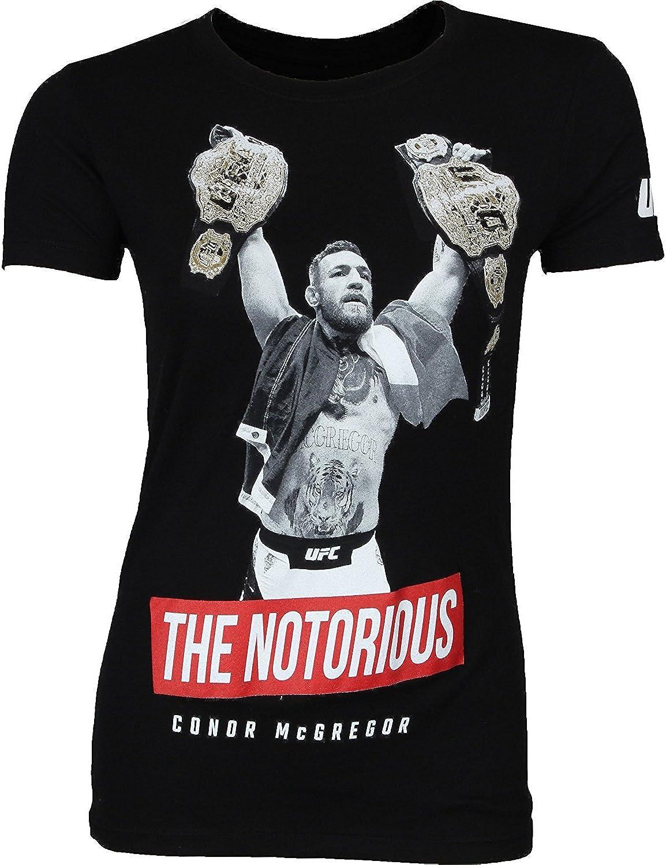 UFC Camisa para mujer Million Dollar Conor McGregor - Negro - X-Large: Amazon.es: Ropa y accesorios