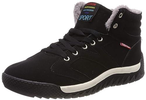 0ae74867 Zapatos de Invierno Hombre Botas Forradas Calientes Botines Nieve Cómodo y  Calentito: Amazon.es: Zapatos y complementos