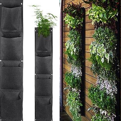 Aquarius CiCi Eco Friendly Plants Wall Hanging Bag Decoration Flower  Growing Pockets Garden Pot Basket